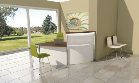 Deco Reception Desk Ex 5C