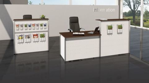 Deco Reception Desk V6b