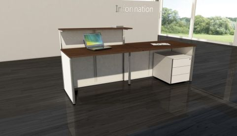 Deco Reception Desk V6c