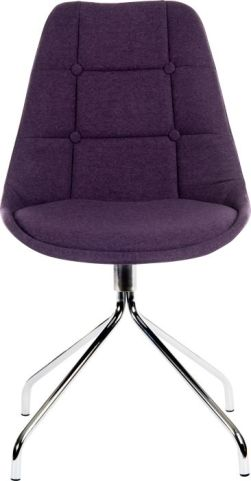 Hatton Designher Chair Plum Fabric 1
