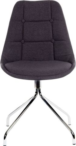 Sienna Cafe Chair In Charcoal