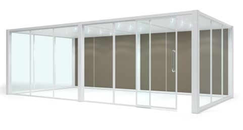 Rectangular Glazed Pod (2)