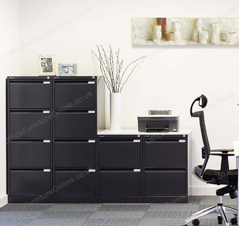 Bislye Classic Filing Cabinets In Bleck Mood Image 2