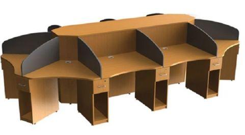 Aspect Ten Person Call Centre Cluster Desk