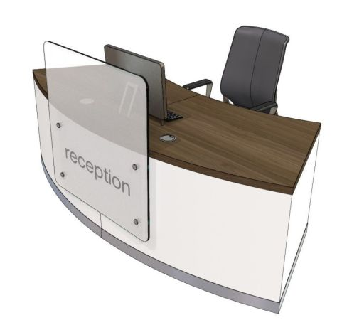 Evo Z Curved Reception Desk