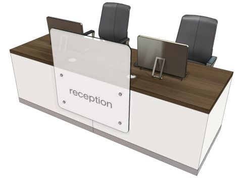 Evo Z Stright Reception Desk