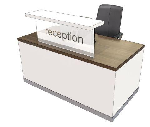 Evo Class Stright Reception Desk
