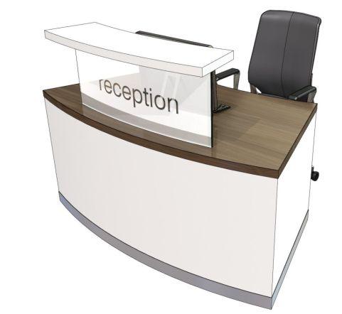 Evo Class Compact Curved Reception Desk