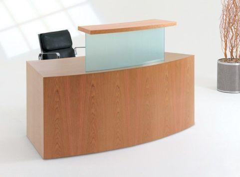 Evo Class Curved Reception Desk