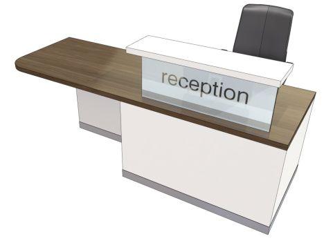 Evo Class Straight Right Hand Reception Desk