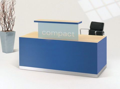 Evo Class Blue Reception Desk