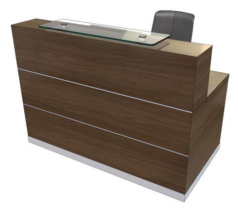 Evo Eclipse Compact Straight Reception Desk