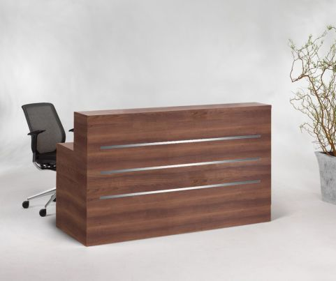 Eclipse Straight Reception Desk Mood Shot 12