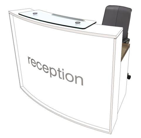 Elite Lite Curved Compact Reception Desk