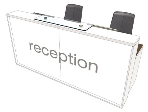 Evo Lite Straight Reception Desk