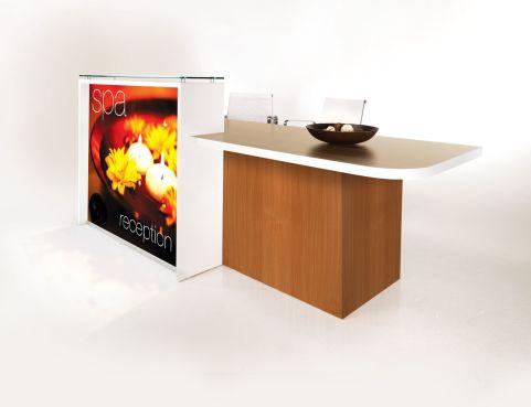 Evo Lite Reception Desk Mood Shot 8