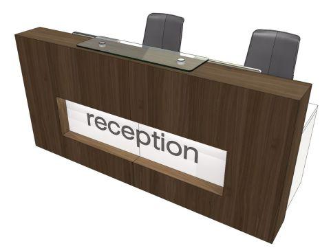 Evo Xpression Straight Reception Desk