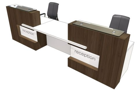 Elite Xpression Two Persion Reception Desk