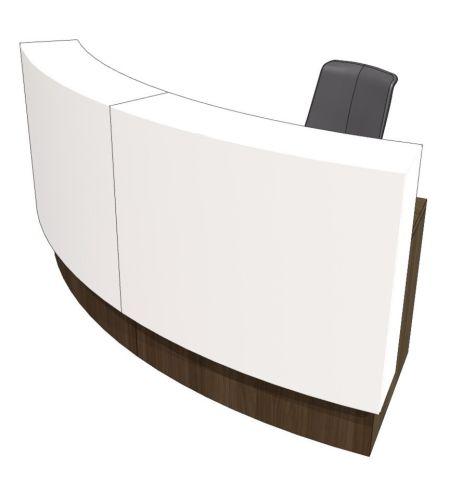 Evo Evoke Curved Reception Desk