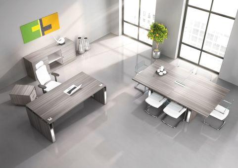 Selector Executive Furniture Suite In Cedar