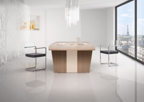 Biarritz Boardroom Table Mood Shot