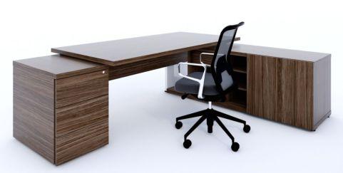 Nitro Executive Desk Pedestal And Credenza 1