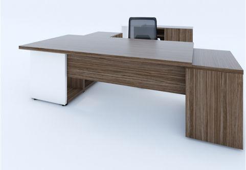 Nitro Executive Desk Pedestal And Credenza 2
