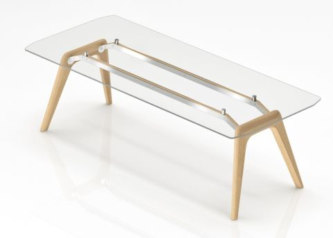 Enzio Glass E4xecutive Desk 1