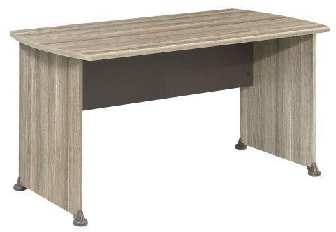 Jazz Rectangular Desk In Drift Oak