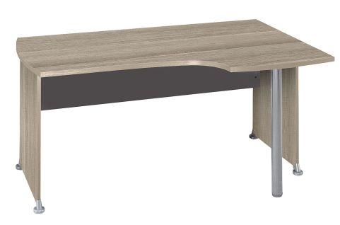 Jazz Right Hand Corner Desk In Drfit Oak