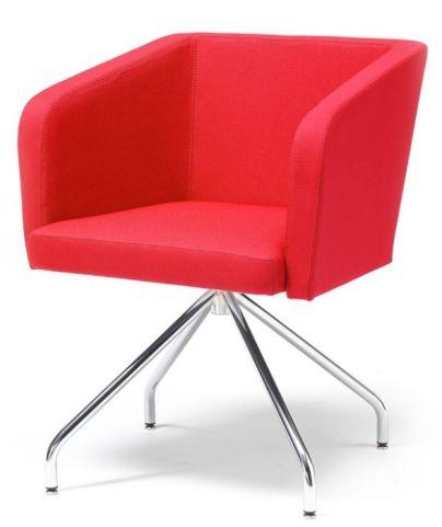 Hello Tub Chair Four Leg Swivel Base