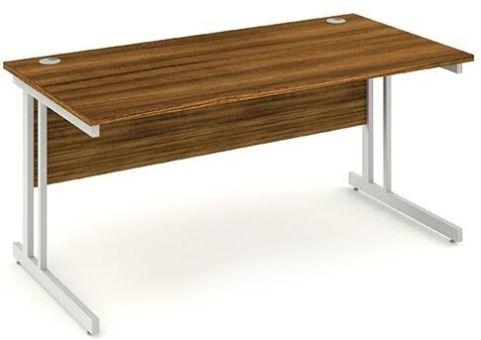 Solar Rectangular Desk In Walnut