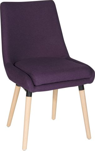 Sark Reception Chair Front Angle