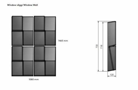 Window Wall Dims