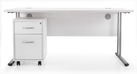 Flite Rectangular Desk Bundle Deal A