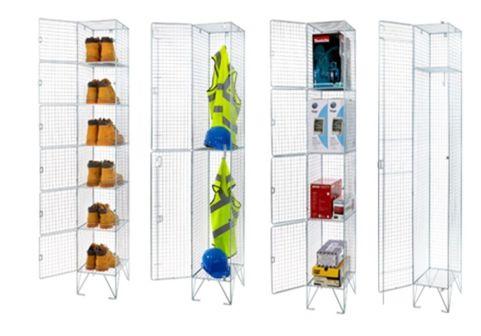 Gravity Steel Locker Cages