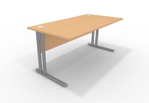 Optimise 1600mm Beech Desk Cantilver Frame