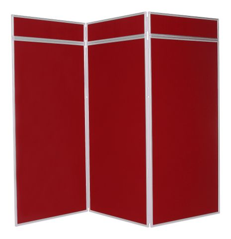 3 Extra Large Panel Display Screen In Red