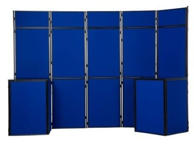 16 Panel Display Screens With 2 Tables