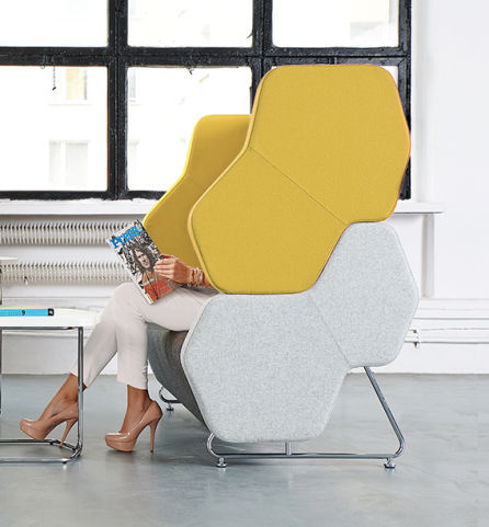 Heza Seating ACOUSTIC SEATING Sofa Solo