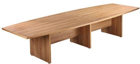 Americano Large Boardroom Table In American Black Walnut