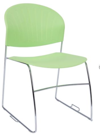 Pinta Chair In Lime Green