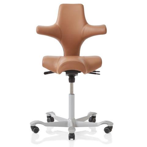 8106 Hag Capisco Stool Ergonomic Seating Leather