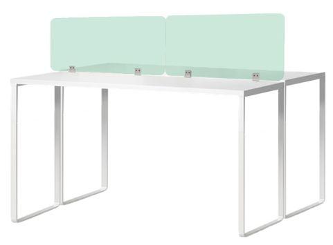 Arrtiva Coloured Acrylic Desk Screens Green