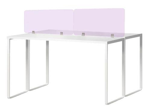 Arriva Acrylic Screens In Purple