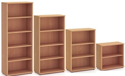 Solar Wooden Bookcases