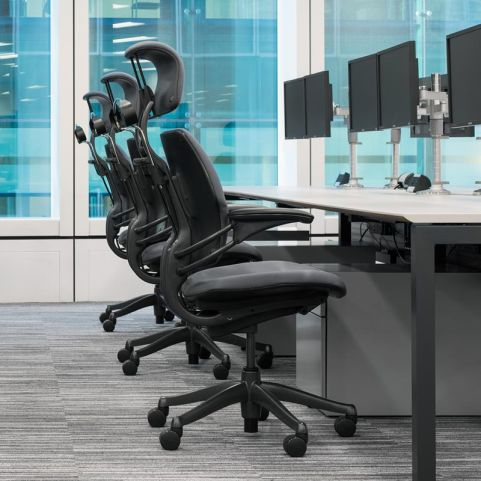 17 Humanscale Freedom Headrest Chair 6