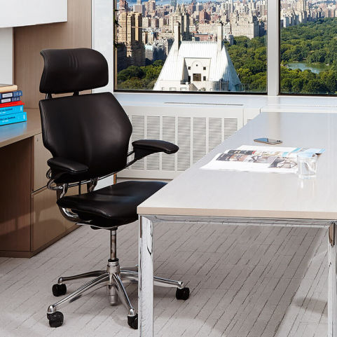 Freedom Task Chair With Headrest Humanscale