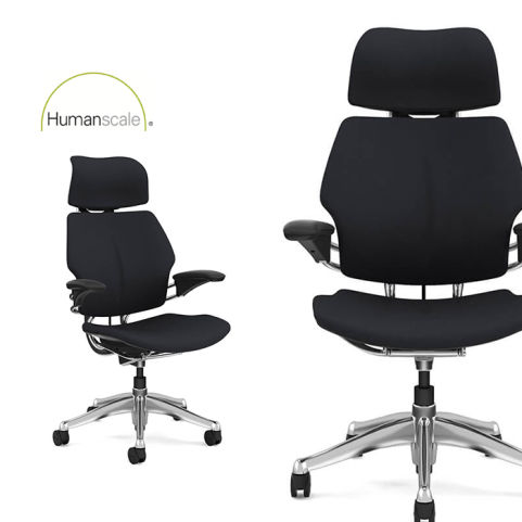 Freedom Task Chair With Headrest Humanscale 1