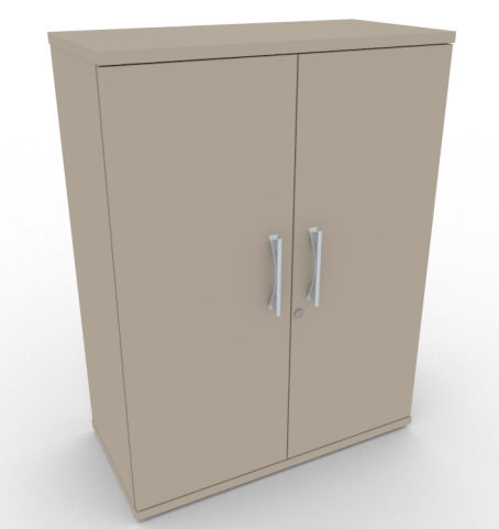 AVALONPOST Mocha Double Door Large Cupboard, 17 Finishes, 5 Year Warranty, Free Delivery And Installation